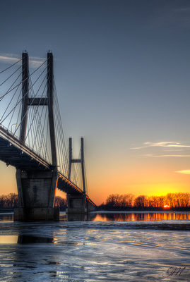 Bayview bridge, Quincy, Illinois